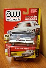 AUTO WORLD MUSCLE WAGONS 1975 BUICK ESTATE WAGON ARCTIC WHITE 2018 R4-VB