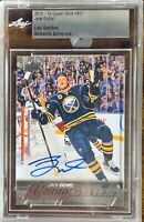 2015 2016 UPPER DECK Jack Eichel AUTO LEAF YOUNG GUNS RC ROOKIE BUYBACKS DNA BGS