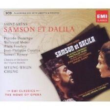 CHUNG/DOMINGO/MEIER/SAINT-SAENS - SAMSON ET DALILA 3 CD NEW+ OPER