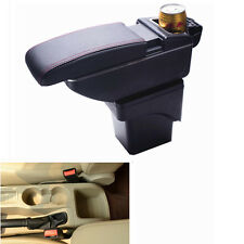Leather Car Center Console Armrest Storage Box for Ford Focus 2007 ~ 2014
