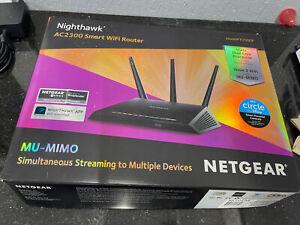 NETGEAR R7000 Nighthawk AC1900 Dual Band Smart Wireless WiFi Router 802.11ac