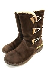 UGG Kona Women's Brown Suede Winter Boots Size 6 M