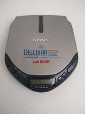 SONY Discman D-E307CK ESP Mega Bass Car Ready Silver Portable CD Player