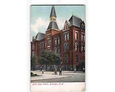 ST1200:  GIRL'S HIGH SCHOOL BROOKLYN NY (UDB postcard circa 1906)