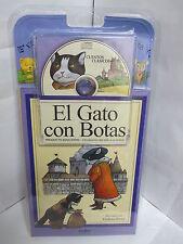 EL GATO CON BOTAS LIBRO Y AUDIO CD CUENTOS PARA NINOS EN ESPANOL ILUSTRADO