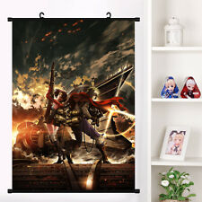 Anime Kabaneri of the Iron Fortres sukari Wall Scroll Poster Home Decor mural