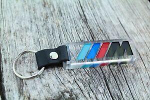 M POWER Keychain for BMW M1 M2 M3 M4 M5 Llavero porta-chaves Schlüsselanhänger