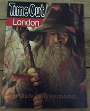 Lord of the Rings Hobbit Ian McKellen Martin Freeman Time Out magazine Dec 2012
