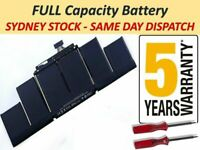 """FAST Charge Battery for Macbook Pro 15"""" Retina A1398 2012- Early 2013 A1417"""