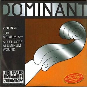 Corde au détail Mi pour violon 1/2 Thomastik Dominant 130TH3