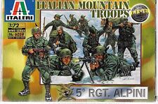 Italeri Italian Mountain Troops, 5th RGT. Alpini in 1/72 6059  ST