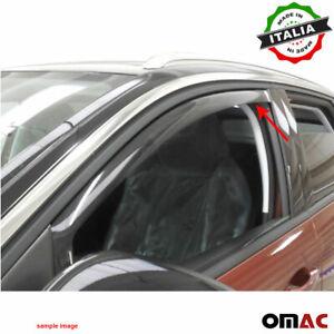 Window Visor Vent Sun Shade Rain Guard 2pcs Fits Mazda CX-7 2007-2012
