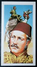 Gordon of  Khartoum  Fez   Vintage Colour Card ### VGC