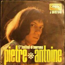 "Pietra dura ~ Antoine-LA FELICITA. 17 Festival di Sanremo 1967 [7"" @ 45] [Made in Italy]"