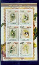 lesotho / 2017 rare orchid series / good condition