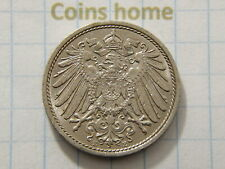 Coins Home Circulated 1914 E Germany 10 Pfennig Set#MH53 Uncertified Ungraded