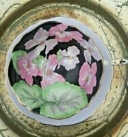 VTG RARE PARAGON 1920s Hand Painted Double Seal. Geraniums Tea Cup & Saucer EXC.