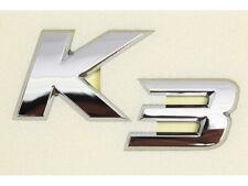Genuine OEM K3 Rear Logo Nameplate Emblem (Fits: KIA 2014+ Forte K3)