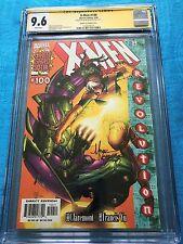 X-Men #100 Romita Jr variant cover - Marvel - CGC SS 9.6 -Signed by Mark Morales