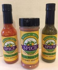Hot Sauce, Creole Seasoning, Jalapeno, Bayou Boys Spice Company, ALL 3
