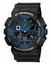 Casio G-Shock Mens Quartz Digital Analogue Watch 20 ATM 200 M GA-100-1A2ER