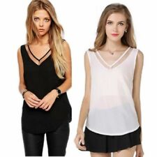 Unbranded Chiffon Tank Tops Tops for Women
