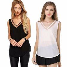 Camisas y tops de mujer blusa sin marca de chifón
