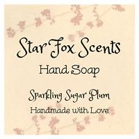 StarFoxScents Handmade Handsoap - Fall & Winter Scents!!