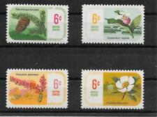 p502 USA/ Pflanzen MiNr 986/89 **