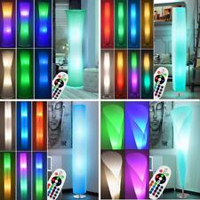 LED Stehleuchten Beleuchtung dimmbar Wohnzimmer Deckenfluter RGB FERNBEDIENUNG