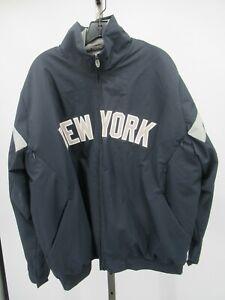 H0062 Majestic New York Yankees MLB-Baseball Windbreaker Jacket Size L