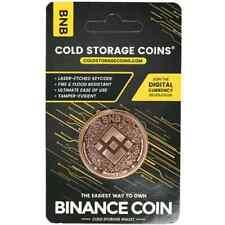 1 oz Binance  Cold Storage  Copper Round (New) BNB BUSD