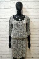 LIU JO Tubino Vestito Donna Taglia S Maglia Dress Lungo Casual Vintage Viscosa
