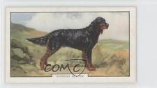 1938 Gallaher Dogs Series 2 Tobacco Base #11 Gordon Setter Non-Sports Card 1i6