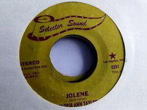 GLORIA ANN TAYLOR Jolene SELECTOR SOUND 0351