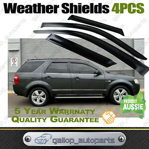 Weather Shields for Ford Territory SX SY 2004-2016 Window Visors Weathershields