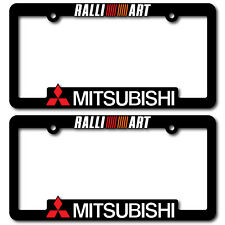 MITSUBISHI-License-Plate-Frames-RALLIART-EVO-Lancer-Evolution-X-2-3-4-5-6-7-8-9