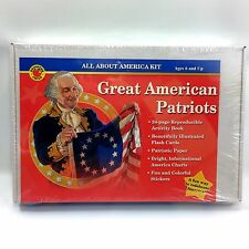Great American Patriots All About America Kit Home School Curriculum History NEW