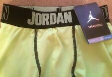 """Da Uomo Nike Air Jordan tutta la stagione di compressione 9"""" PANTALONCINI RUNNING CICLISMO PALESTRA YOGA"""