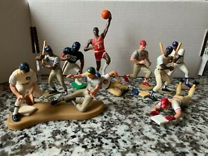 Starting Lineup Lot Kenner MLB NFL NBA Canseco Olajuwon Anderson Rose Cubs SLU