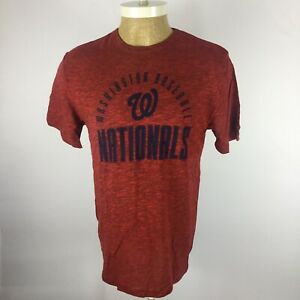NWT Genuine Merchandise Mens Size Medium Red Washington Nationals S/S Shirt. Y3