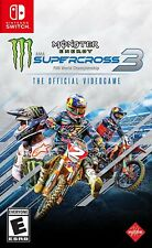 PLAYSTATION 4 PS4 - MONSTER ENERGY SUPERCROSS VIDEOGAME 3 BRAND NEW SEALED