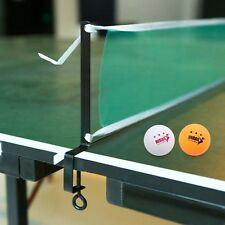 Table Tennis Ping Pong Set 1 Net 2 Post Clamp Brackets 2 Balls Game Sports