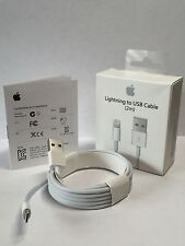 100% OEM Genuine Authentic Apple 2M Lightning USB Cable 6FT iPhone Charger