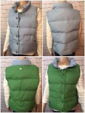 fdc419528ee Ralph Lauren Reversible Quilted Down Vest Blue Green Snap Polo Jeans Womens  XL