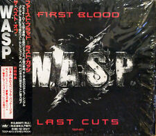 W.A.S.P.  First Blood Last Cuts Japanese w/OBI Compilation CD 1993 Never Played!