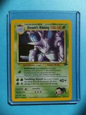 Gym Challenge Rare Pokémon Individual Cards with Holo
