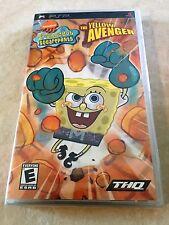 SpongeBob SquarePants: The Yellow Avenger (Sony PSP, 2006) PSP NEW