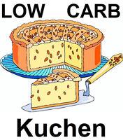 ❤️❤️_Low Carb Kuchen Rezepte, Backen mit Genuss, ohne Zucker und Weizenmehl_❤️