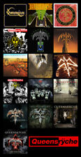 "QUEENSRYCHE album discography magnet (4.5"" x 3.5"") the verdict"